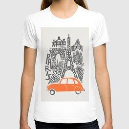 Paris Cityscape T-shirt