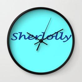 Sherlolly Wall Clock