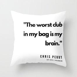 39     | Golf Quotes | 190606 Throw Pillow