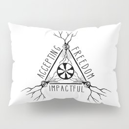 ACCEPTING - FREEDOM - IMPACTFUL Pillow Sham