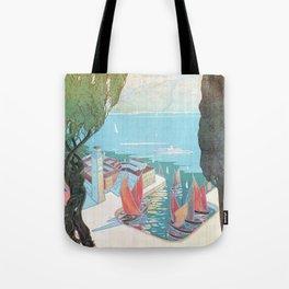 1920 Riva Del Garda Tote Bag