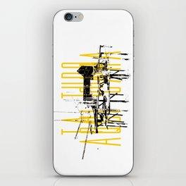 Tá tudo aqui Cara iPhone Skin
