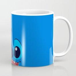 Stitch Cute Face Coffee Mug
