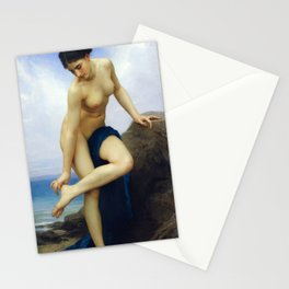 """William-Adolphe Bouguereau """"After the Bath"""" Stationery Cards"""