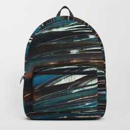 Wave Abstract Backpack