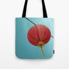 Chinese Lantern in Chinatown LA Tote Bag