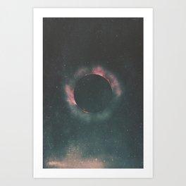 The Dark Sun Art Print
