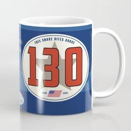 SRC Preparations. Racecar Rebels. 130 Snake Bite Coffee Mug