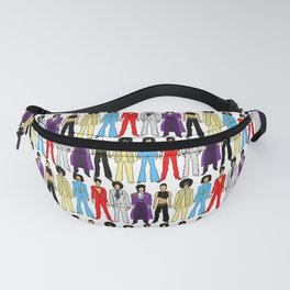 Purple Power Outfits Fanny Pack