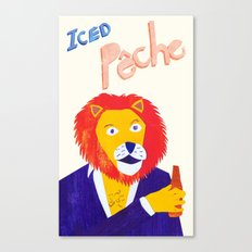 Rory C's Iced Pêche Canvas Print