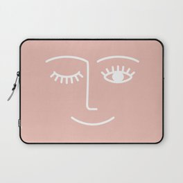 Wink / Pink Laptop Sleeve
