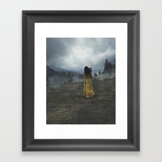 Escape to the Hills Framed Art Print