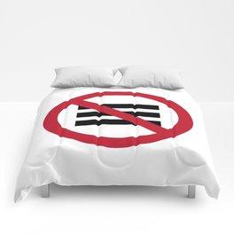 No Hamburger bar Comforters