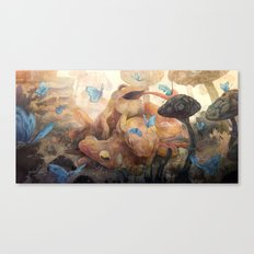 Devour Canvas Print