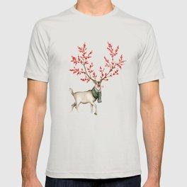 Rudolph the Winterberry Antler'd Reindeer T-shirt