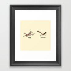 Endangerous Species Framed Art Print
