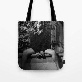 Queen J Tote Bag