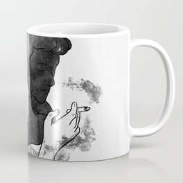 Cigarette smell. Coffee Mug