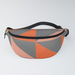 Orange Angles Fanny Pack
