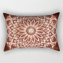 Zen Mandala Rectangular Pillow