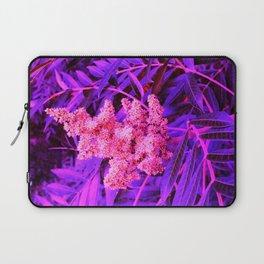Pink and Blue Sideways Sumac Laptop Sleeve