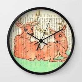 Forever and Ever Wall Clock