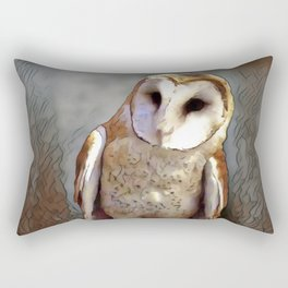 Owl Magic Rectangular Pillow