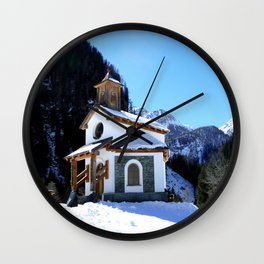 Little Pilgrimage II Wall Clock