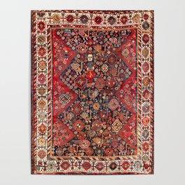 Qashqa'i Fars Southwest Persian Nomad Rug Print Poster