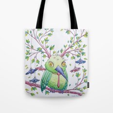 Flying school II Tote Bag