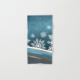 Winter Night Hand & Bath Towel