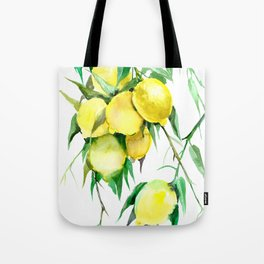 Lemon Tree. lemons kitchen design decor Tote Bag