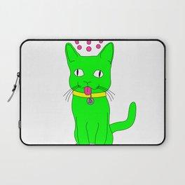 """""""Heckin Confused Derp Cat"""", by Brock Springstead Laptop Sleeve"""