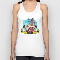 borderlands Tank Tops featuring caravan fam by hydrae