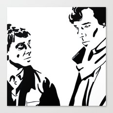 Simple Sherlock Canvas Print