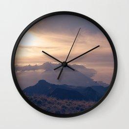 Autumn dusk Wall Clock
