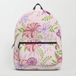 Flowers dancing around Backpack