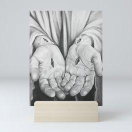 Jesus Hands Mini Art Print