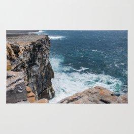 Cliffs off Dún Aonghasa Rug