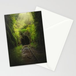 Green Lacuna Stationery Cards