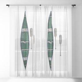 Canoe Sheer Curtain