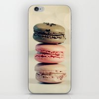 macarons iPhone & iPod Skins featuring macarons . . . by [o] Suze q