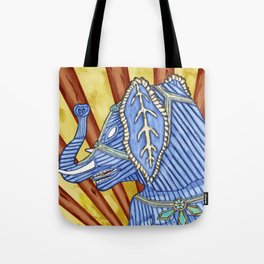 Super Senior Elephante Tote Bag