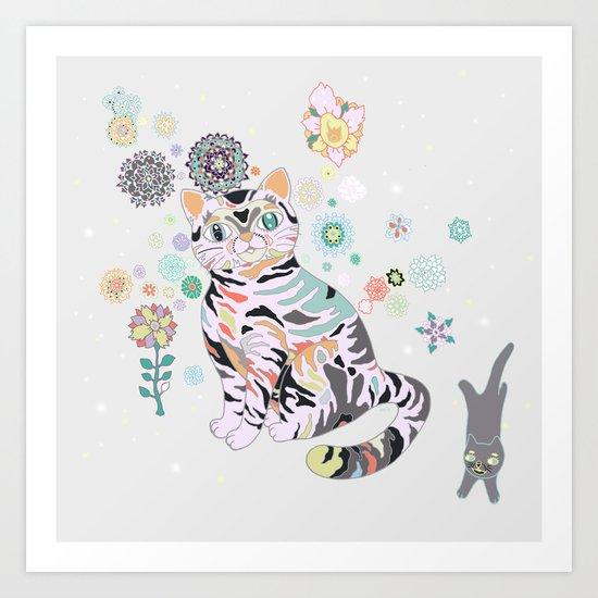 catflowers Art Print