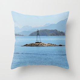 Isla sureña Throw Pillow