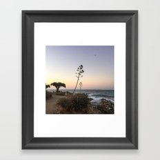 portrait of a tree no. 3 Framed Art Print