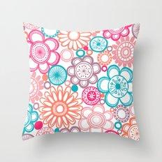 BOLD & BEAUTIFUL springtime Throw Pillow