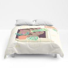 Hello Cat Comforters