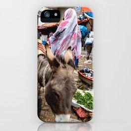 horse by Erik Hathaway iPhone Case