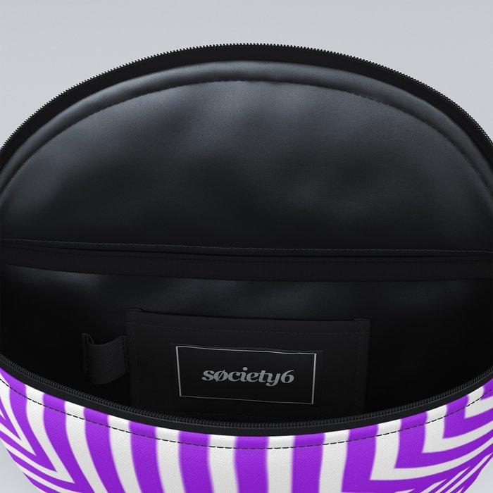 Purple (X11) - violet - Minimal Vector Seamless Pattern Fanny Pack